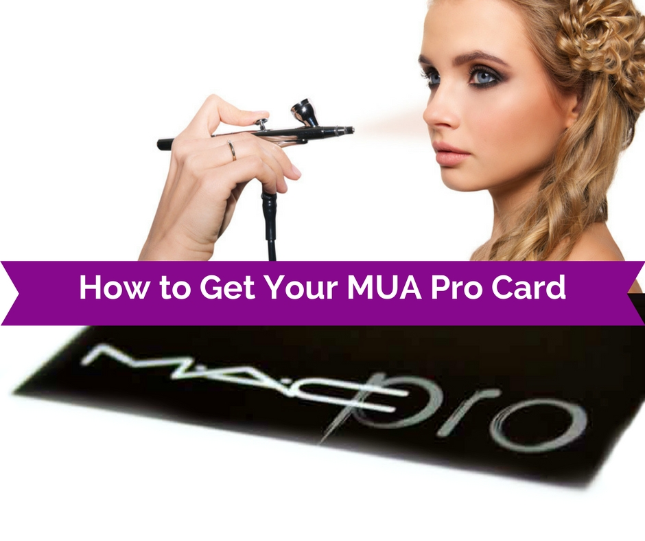 how to get your makeup artistry pro card for cosmetic